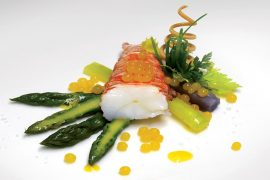Lobster-tail-Asparagus-salad-2